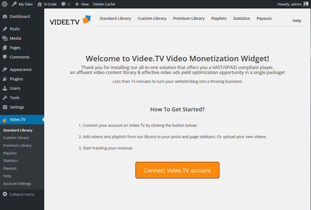 VideeTV: Monetize Your Videos & Free Content Library: Video