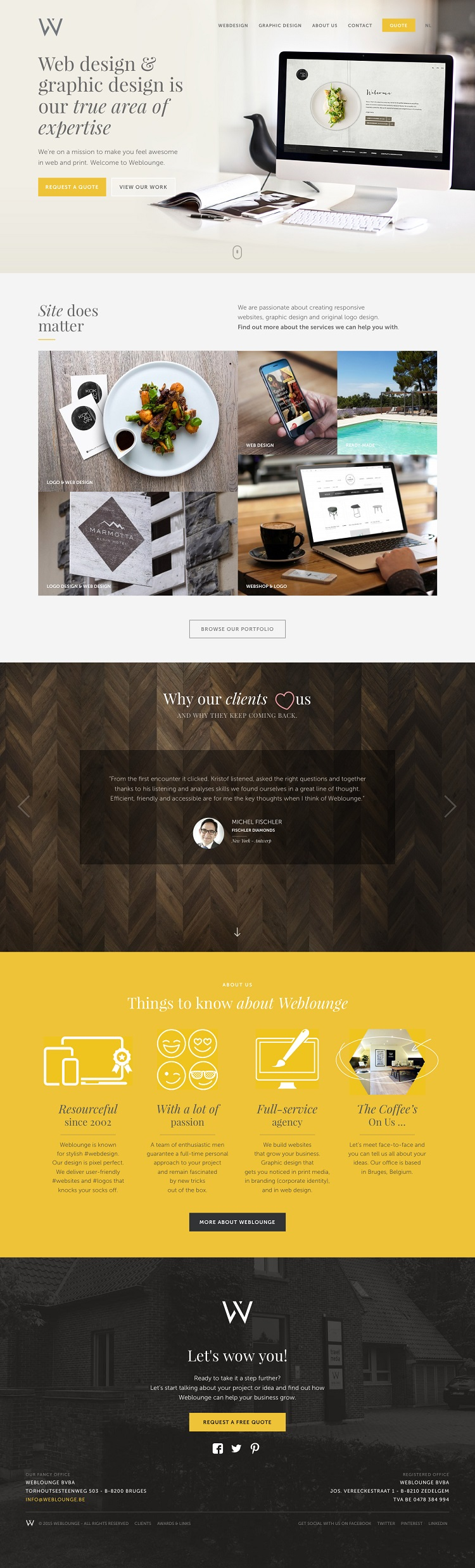 creative web design 2015