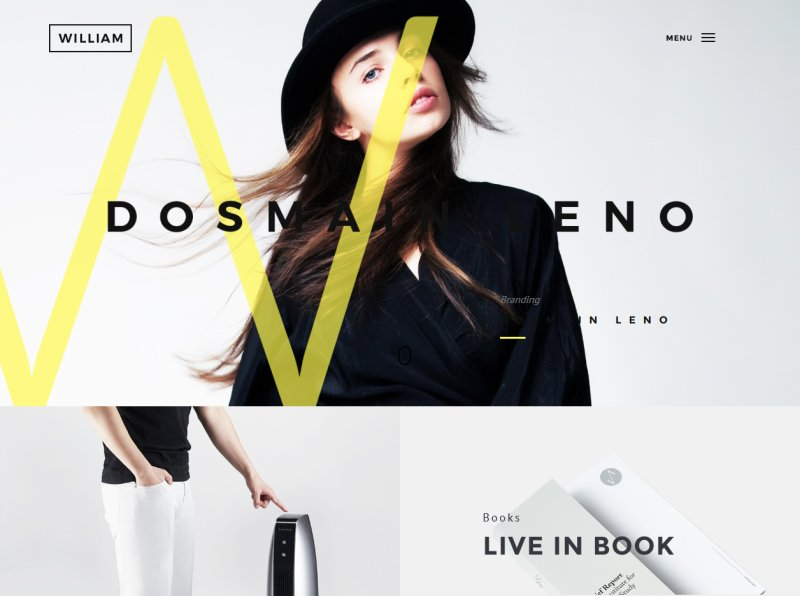 william creative portfolio theme