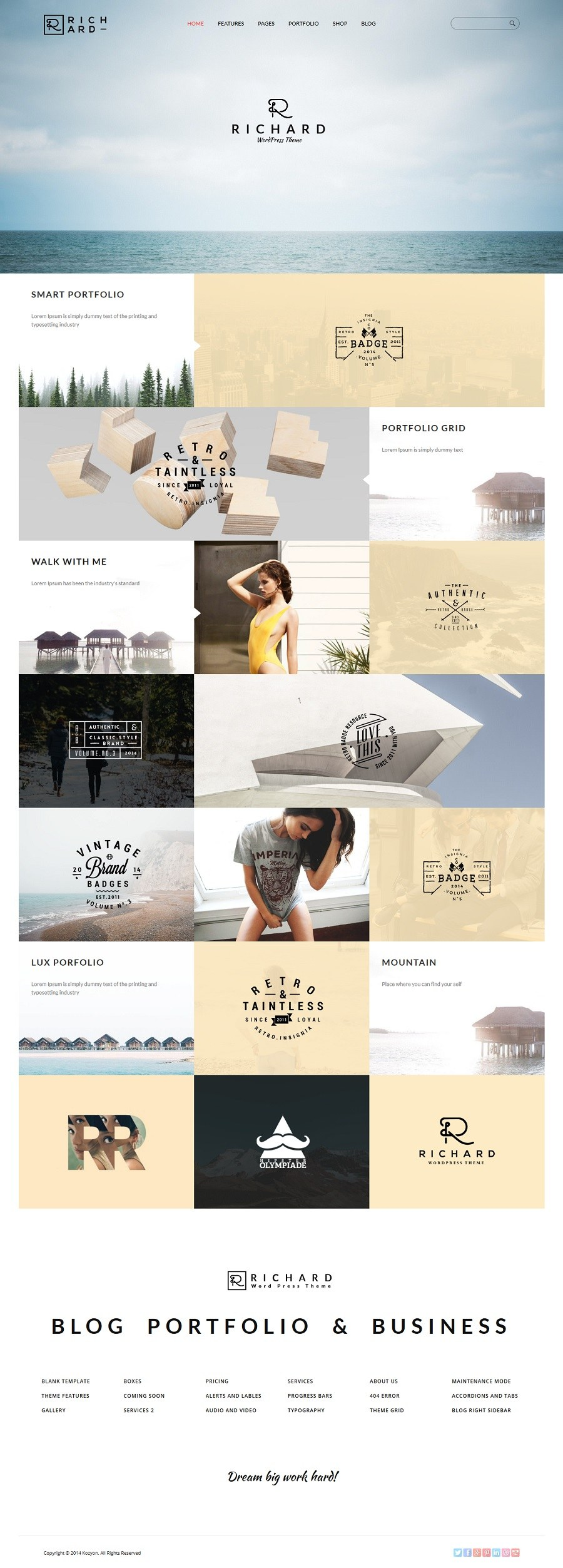 richard creative wordpress themes