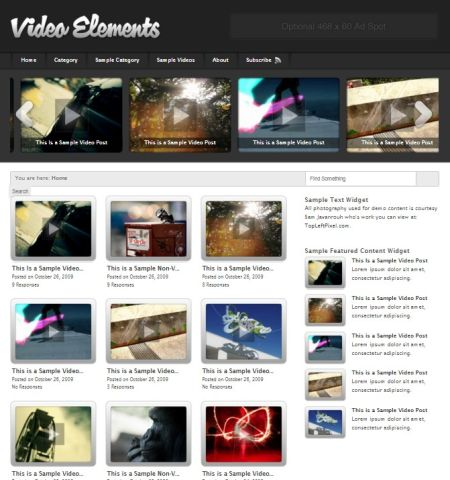 video elements