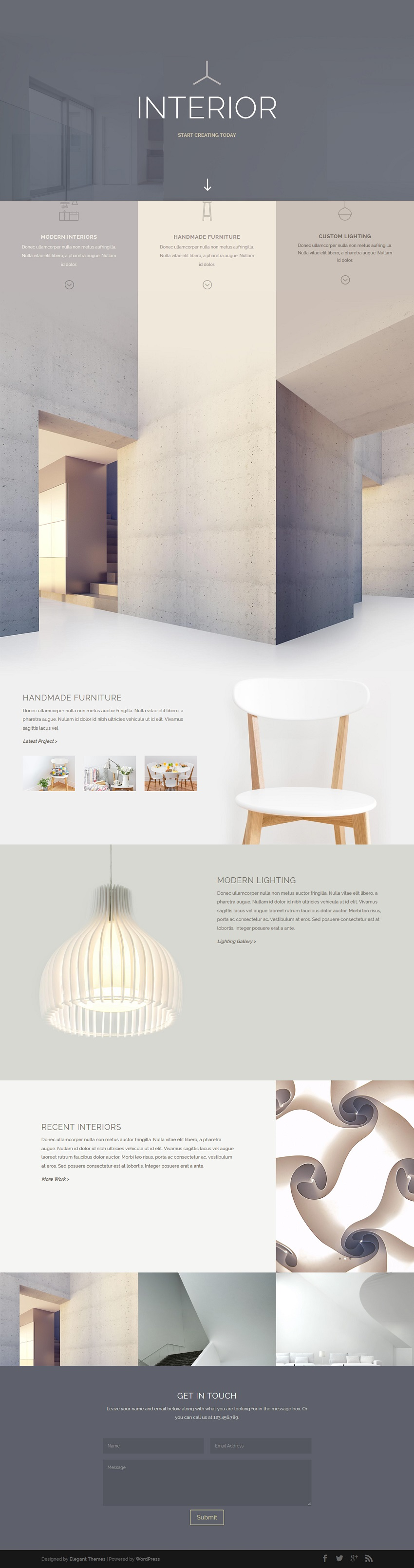 Best of 2016 creative web designs for inspiration for Creative interior and design
